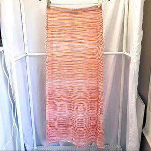 Missoni 2000's Crochet Knit Tube Skirt